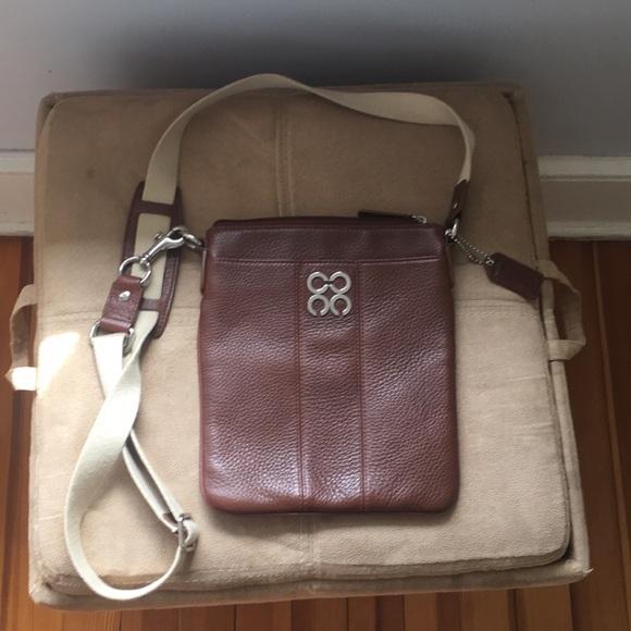 505ae26d329 Coach Bags   Dark Brown Leather Crossbody Bag   Poshmark